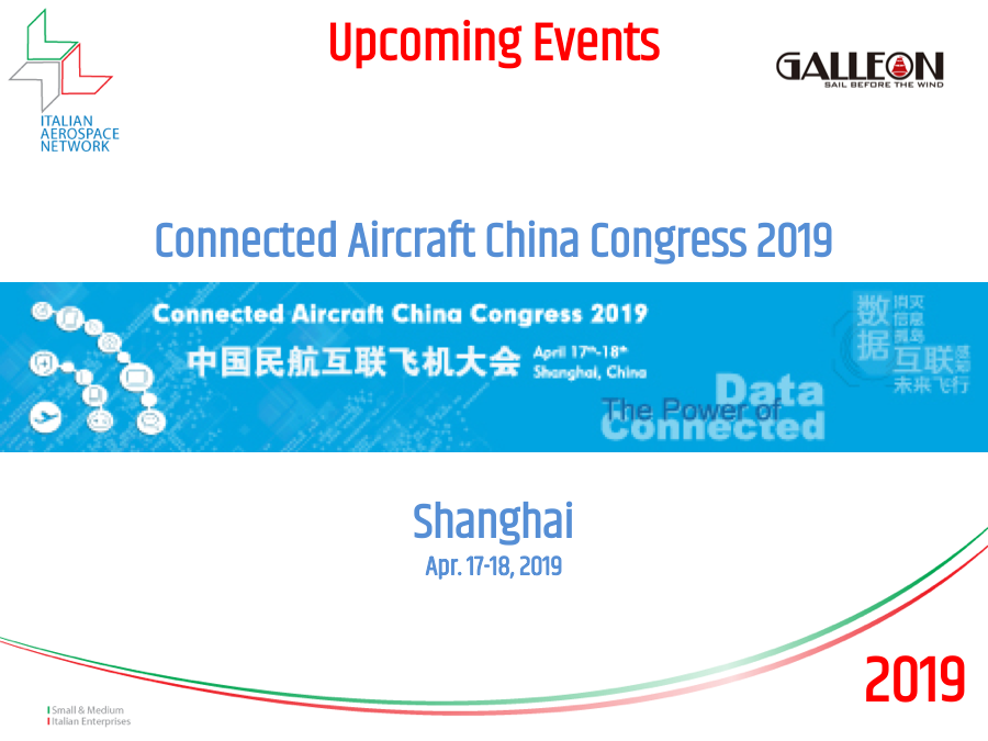 Connected Aircraft China Congress 2019