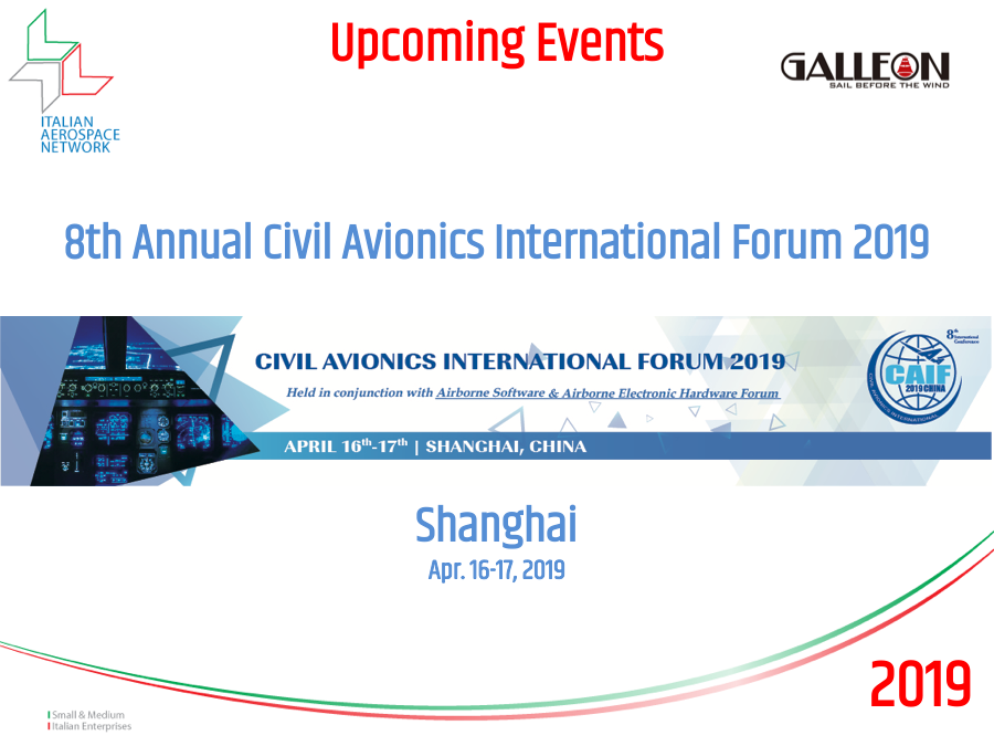 2019 (Apr. 16-17) - 8th Annual Civil Avionics International Forum