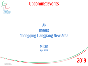 IAN meeting with Chongqing's Liangjiang New Area - April 2019