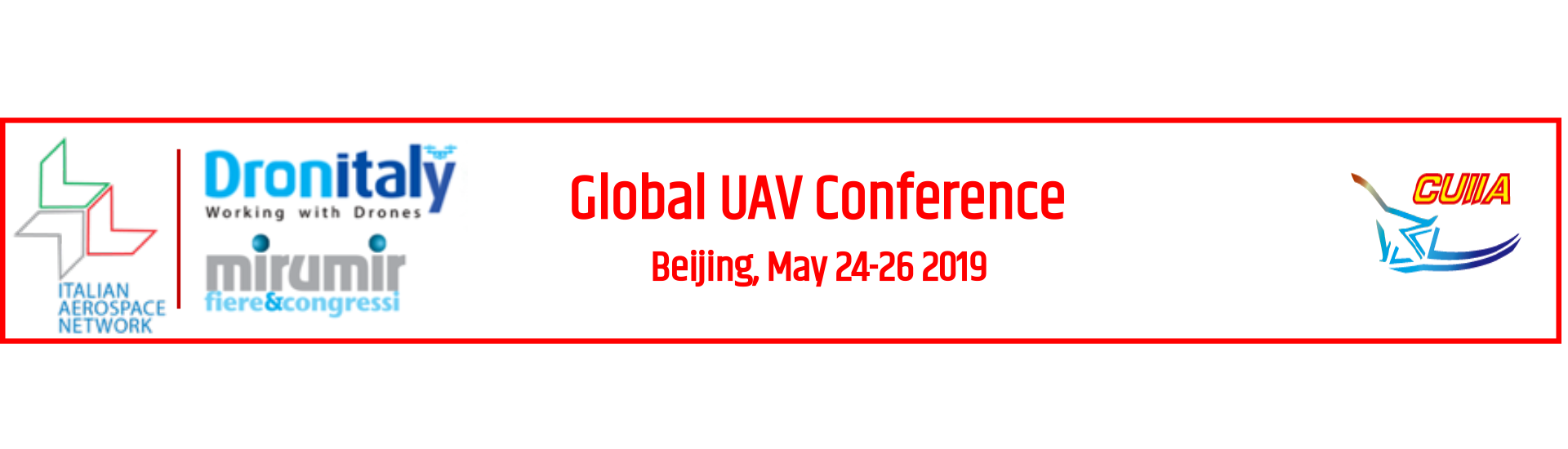 IAN Event - Global UAV Conference 2019 - Banner